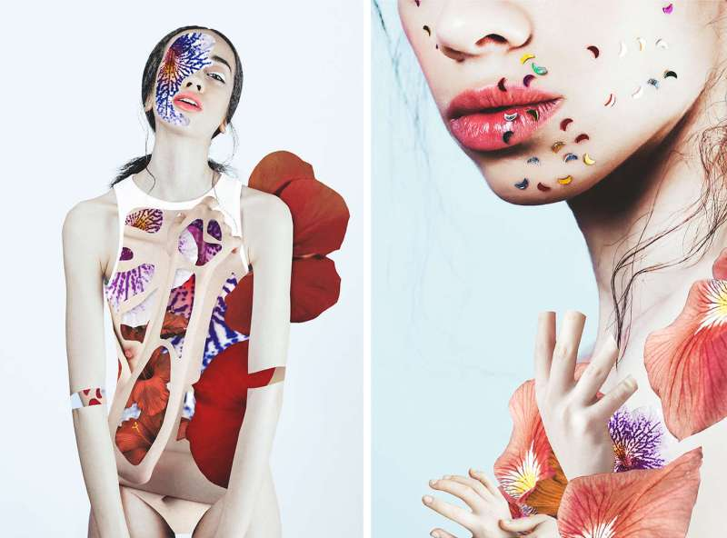 Collage Portraits by artist Rocío Montoya (7)