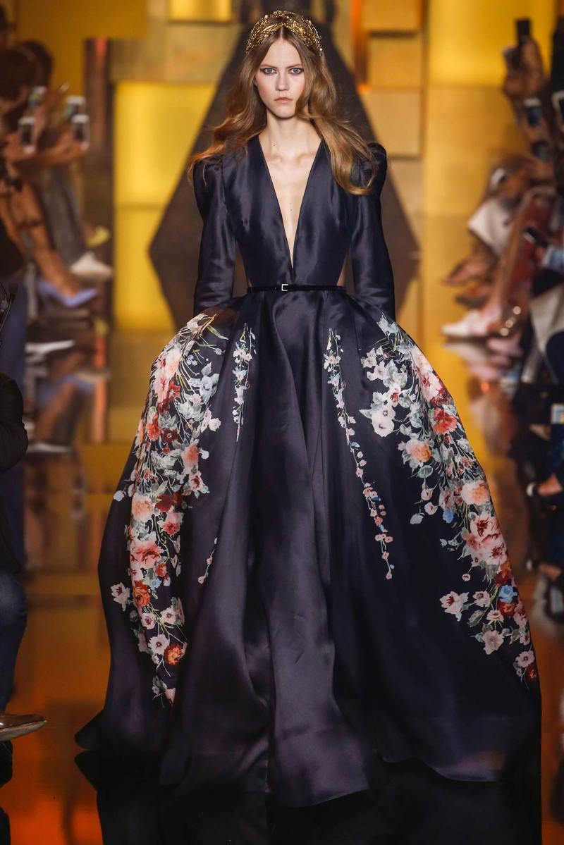 Elie Saab Haute Couture FW 2015 Parigi (56)