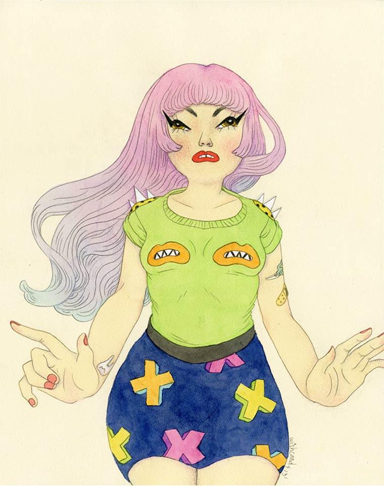 Illustrations by artist Sashiko Yuen (12)
