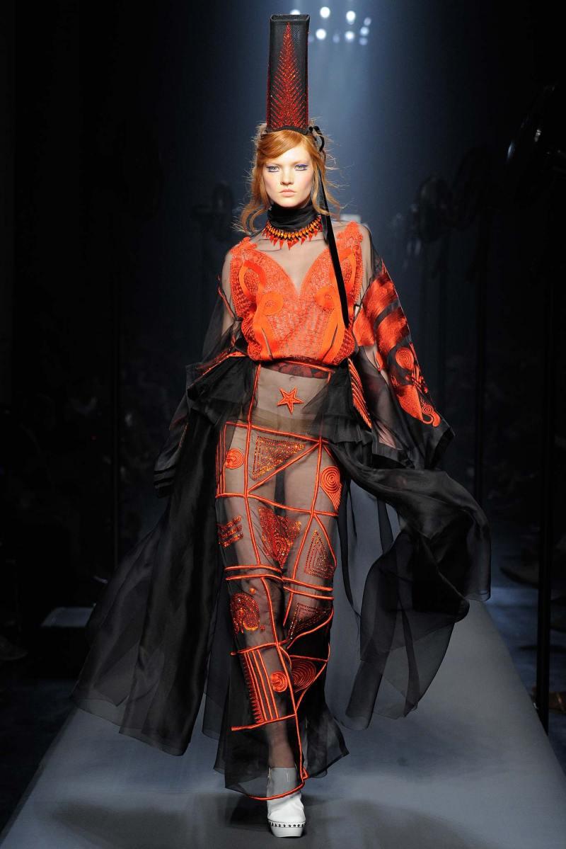 Jean Paul Gaultier Haute Couture FW 2015 Paris (52)