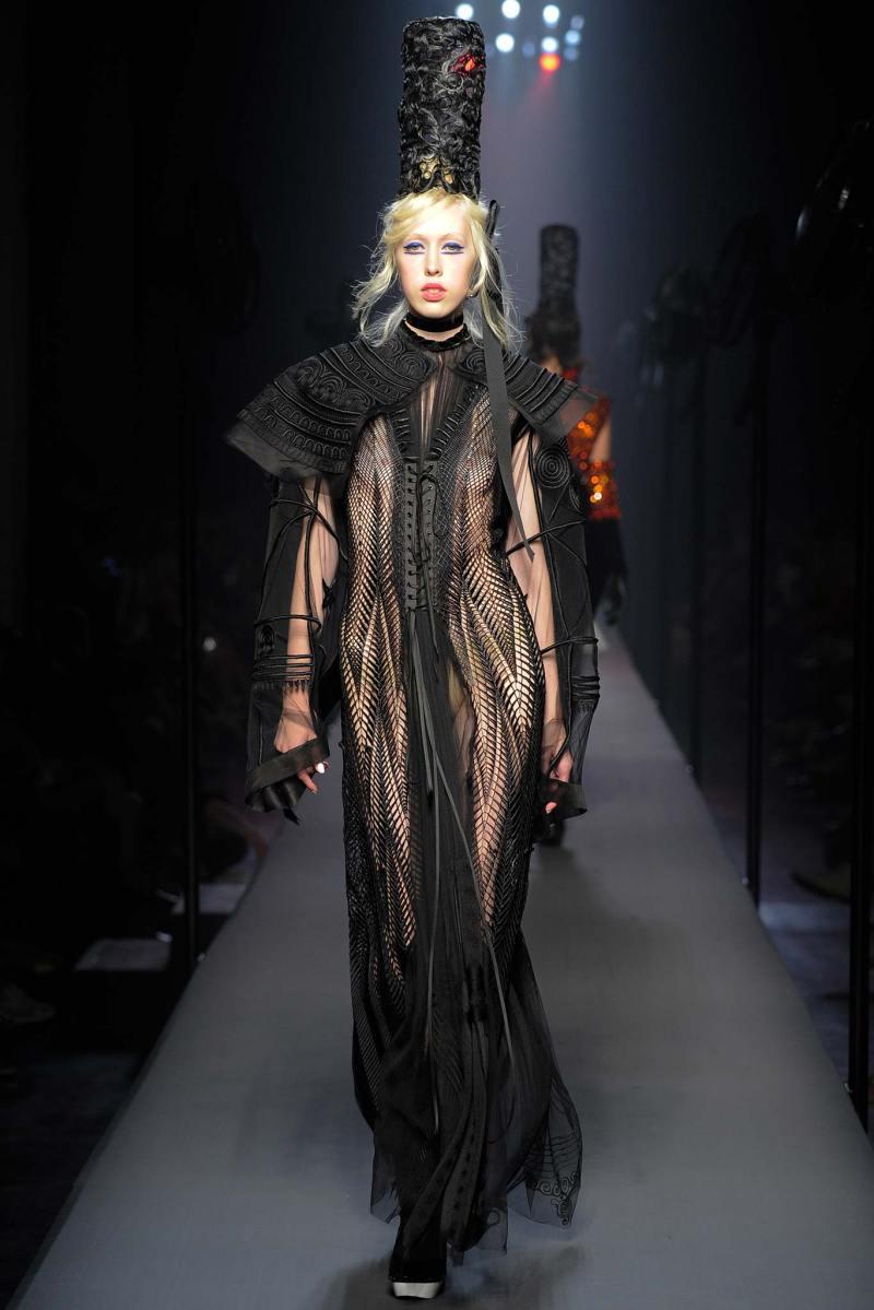 Jean Paul Gaultier Haute Couture FW 2015 Paris (55)