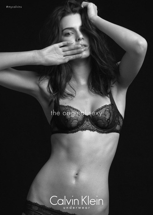 Kendall Jenner for Calvin Klein underwear
