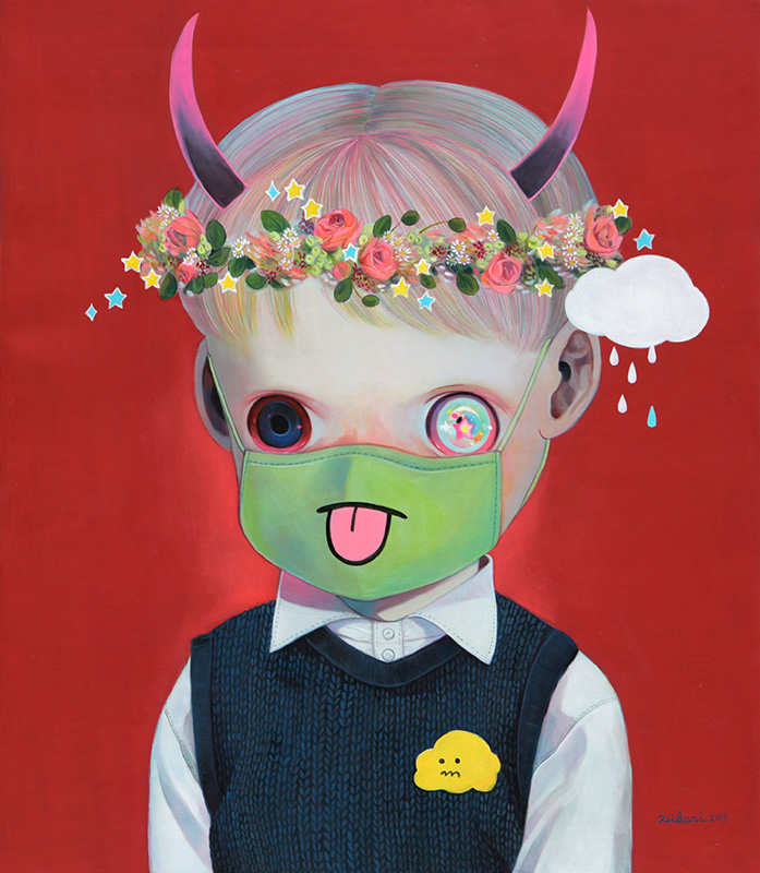 Paintings by Hikari Shimoda (3)