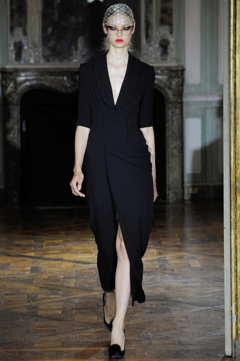 Ulyana Sergeenko Haute Couture FW 2015 Paris (1)