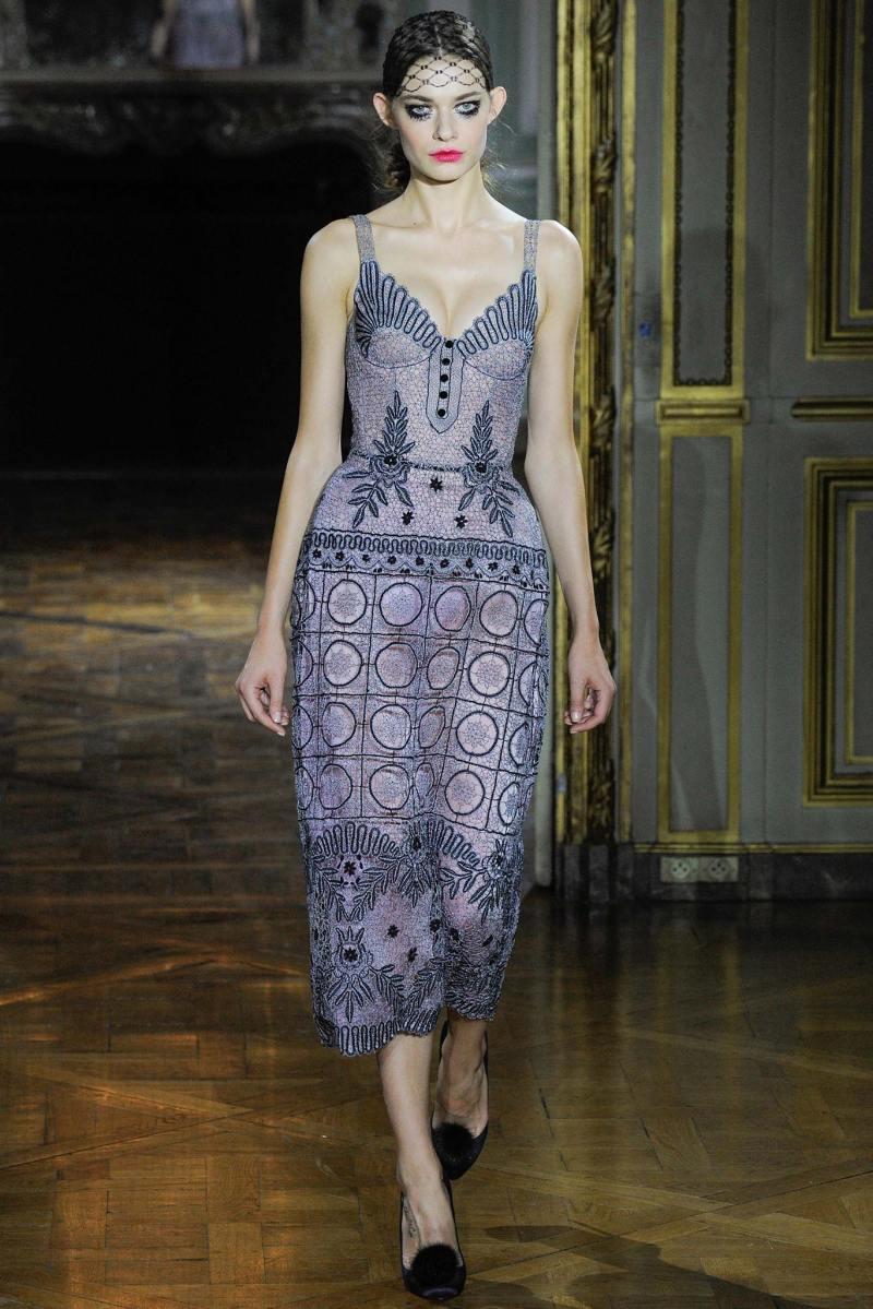 Ulyana Sergeenko Haute Couture FW 2015 Parigi (10)