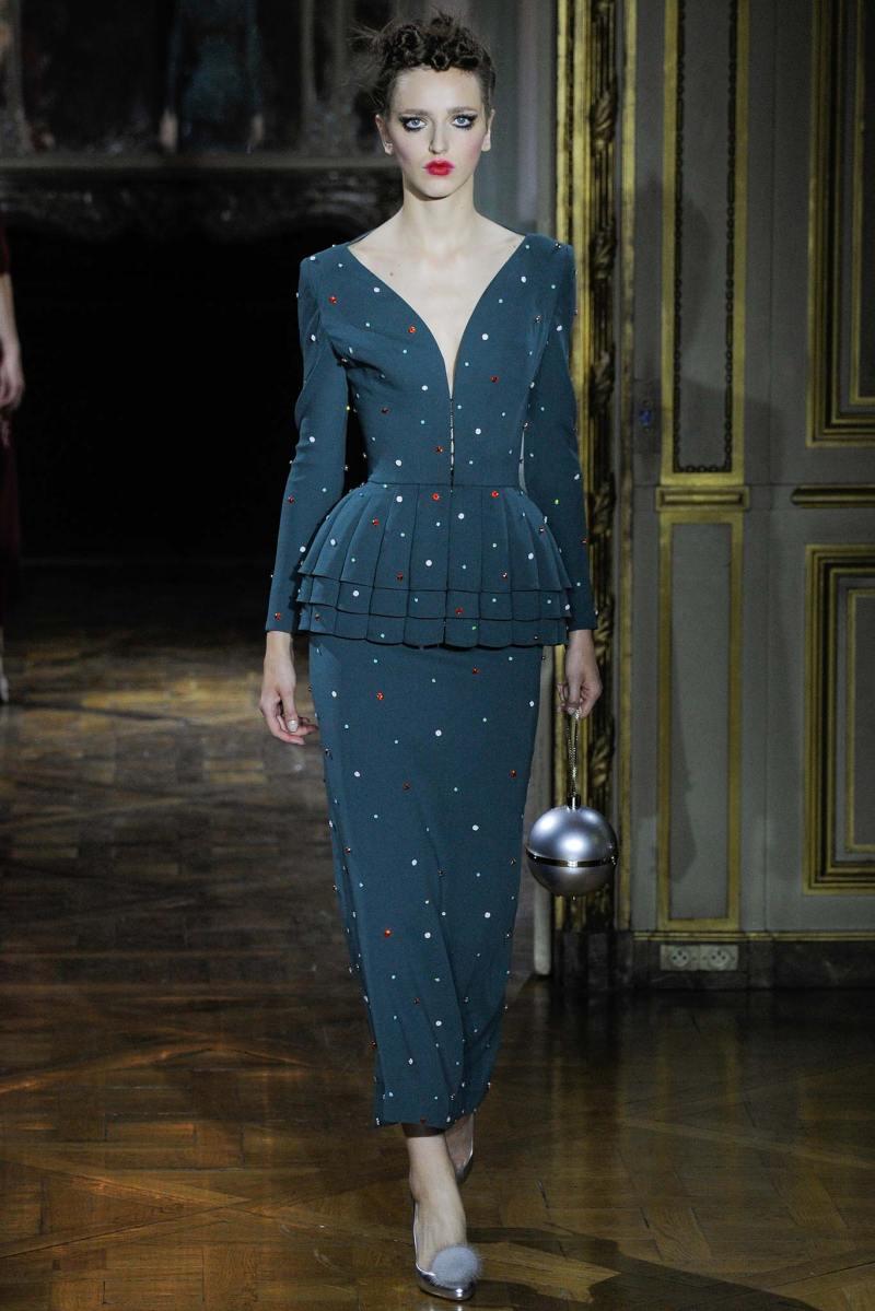 Ulyana Sergeenko Haute Couture FW 2015 Parigi (11)