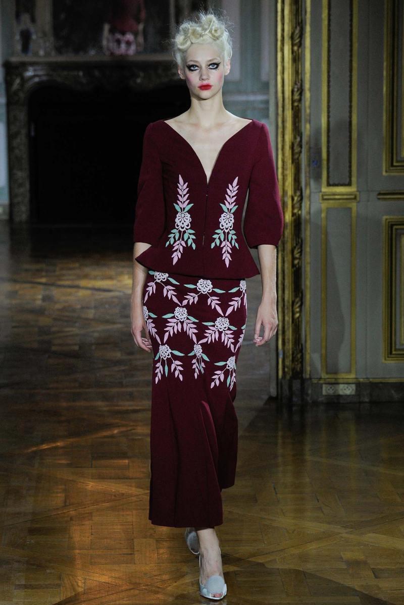 Ulyana Sergeenko Haute Couture FW 2015 Paris (12)
