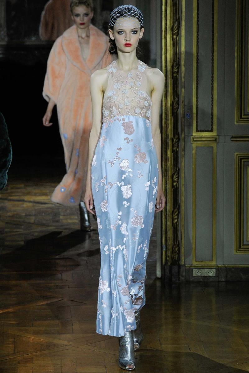Ulyana Sergeenko Haute Couture FW 2015 Paris (14)