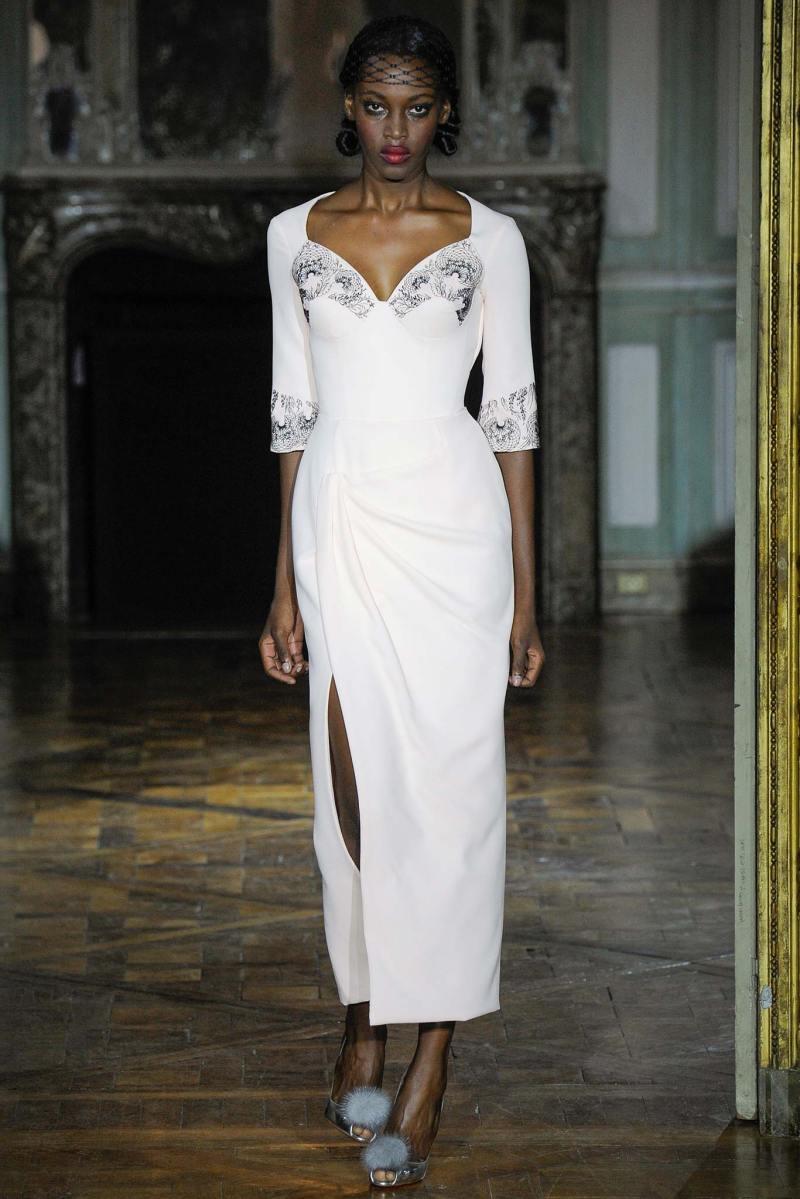 Ulyana Sergeenko Haute Couture FW 2015 Parigi (18)