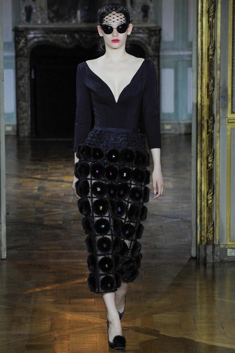Ulyana Sergeenko Haute Couture FW 2015 Paris (2)