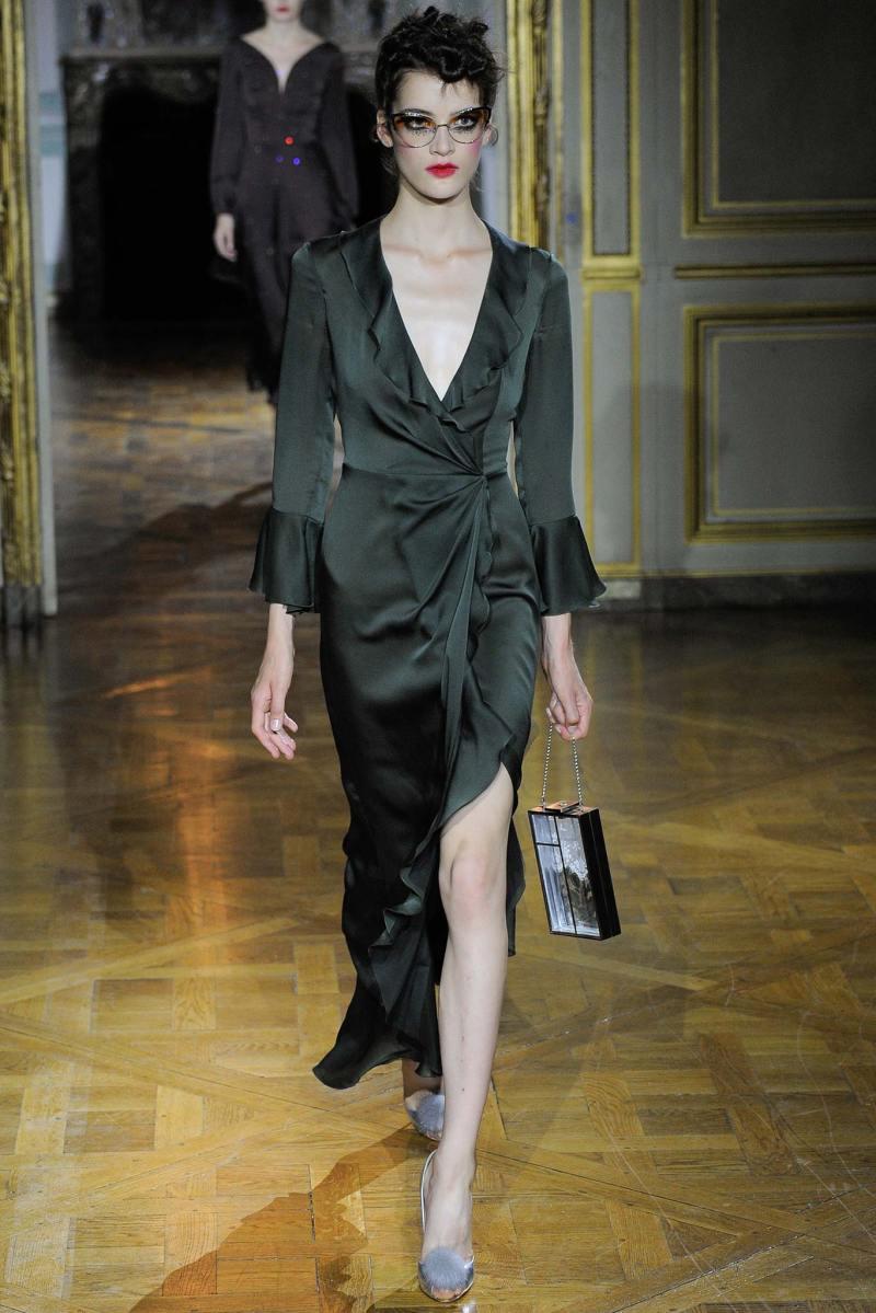 Ulyana Sergeenko Haute Couture FW 2015 Parigi (21)