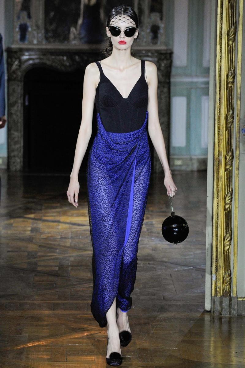 Ulyana Sergeenko Haute Couture FW 2015 Parigi (29)