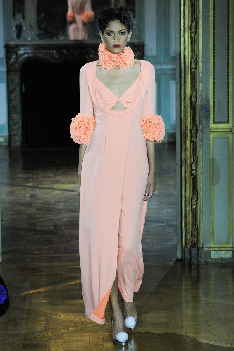 Ulyana Sergeenko Haute Couture FW 2015 Paris (35)