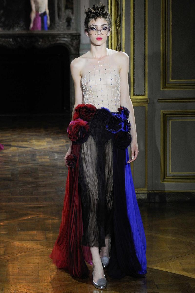 Ulyana Sergeenko Haute Couture FW 2015 Paris (38)