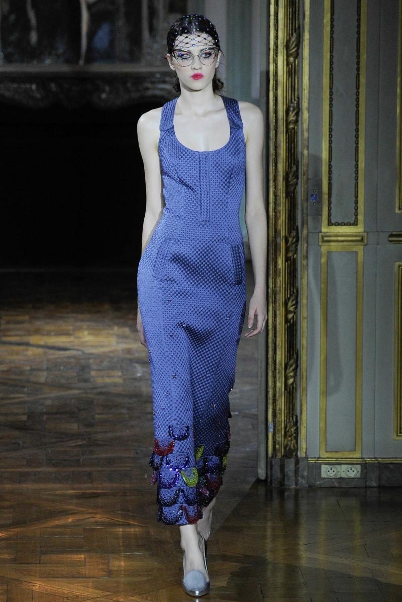 Ulyana Sergeenko Haute Couture FW 2015 Paris (7)