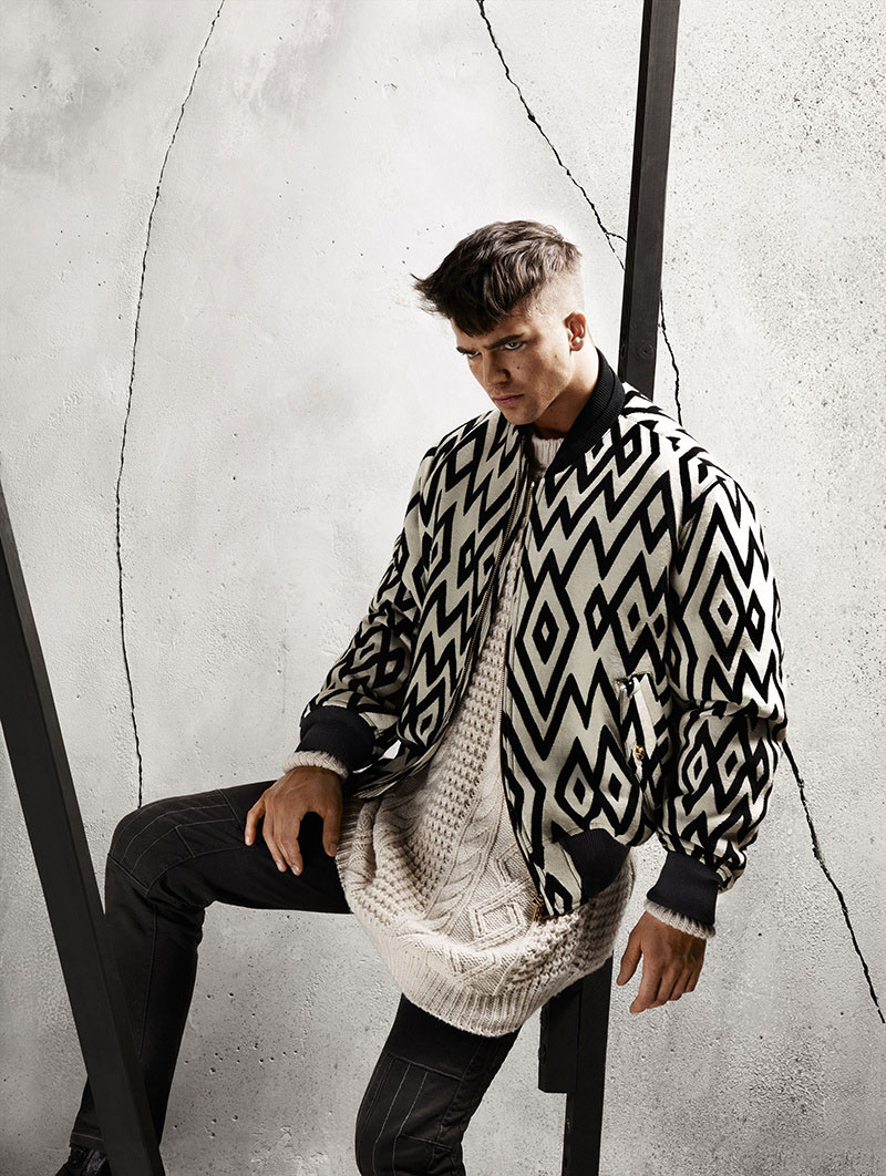 Versace Menswear FW 2015 Ad Campaign (1)