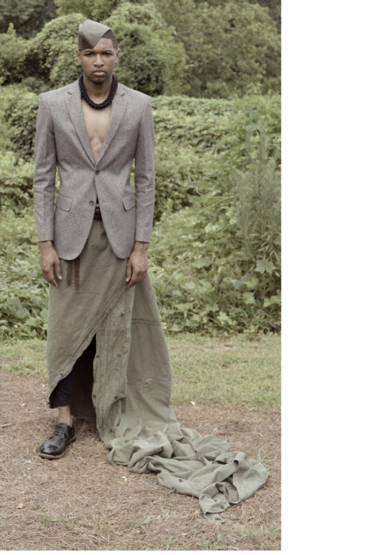 Cotte D'Armes Homme SS16 Look Book-4