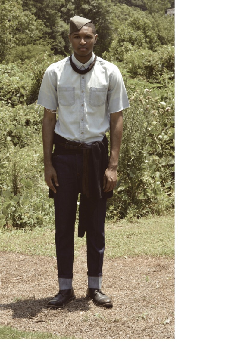 Cotte D'Armes Homme SS16 Look Book-6