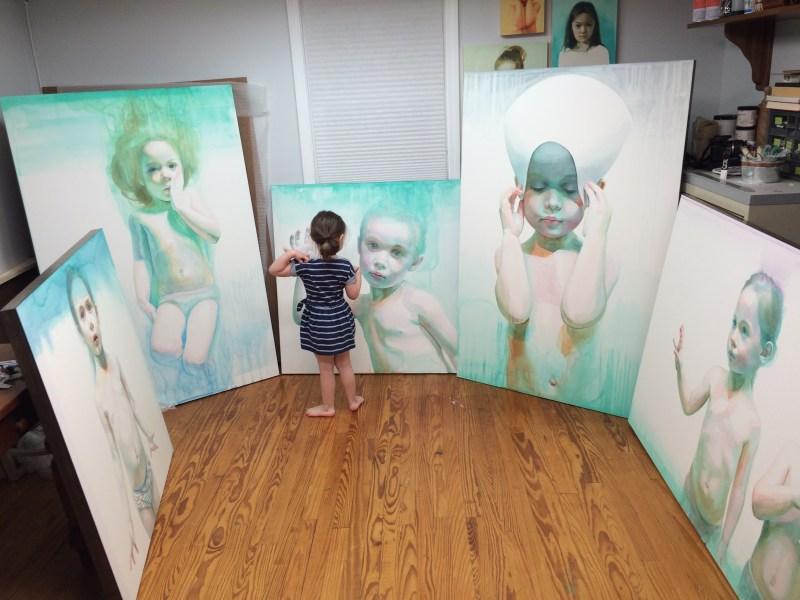 Paintings by artist Ali Cavanaugh (5)