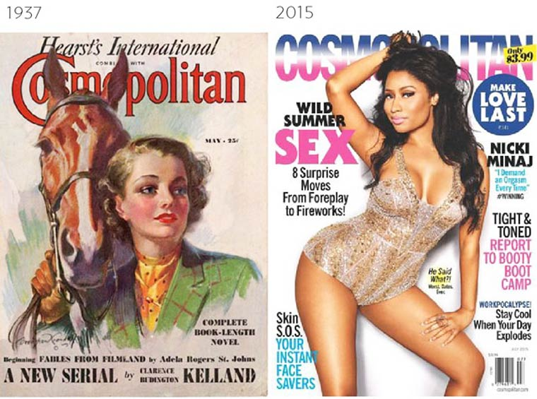 The Evolution of Magazine Covers