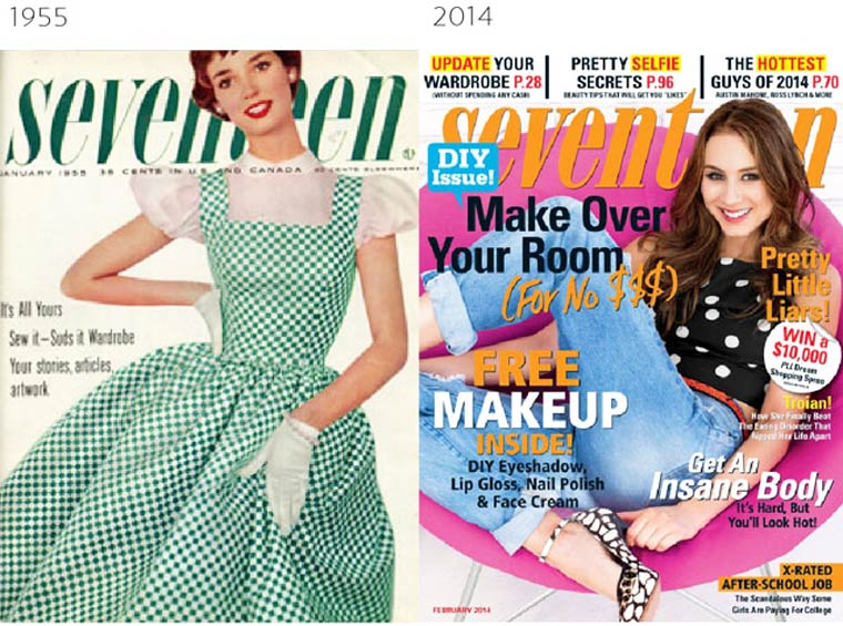 The Evolution of Magazine Covers (6)