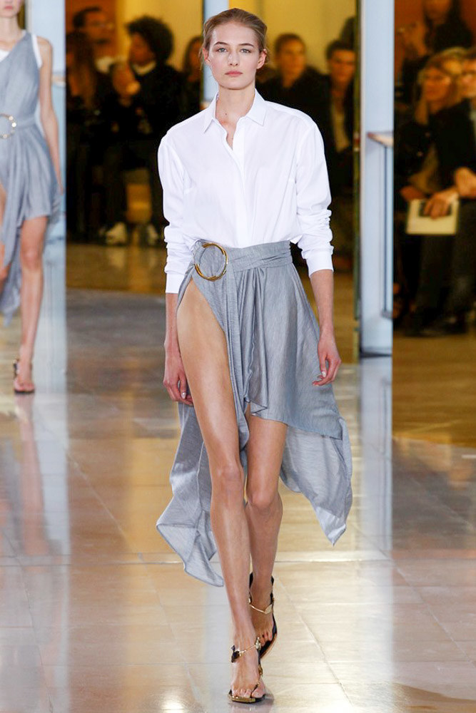 Anthony Vaccarello Ready To Wear SS 2016 PFW