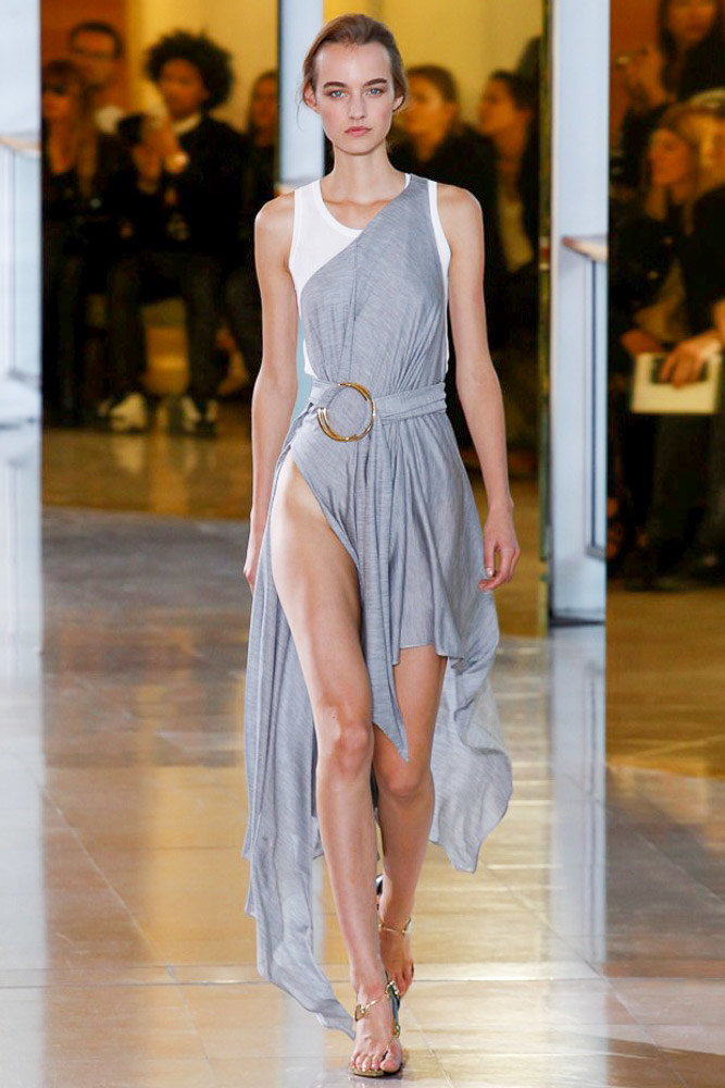 Anthony Vaccarello Ready To Wear SS 2016 PFW (28)