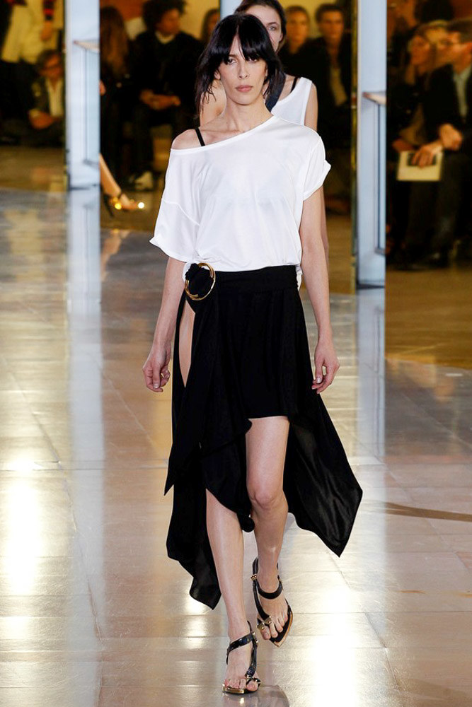 Anthony Vaccarello Ready To Wear SS 2016 PFW (30)
