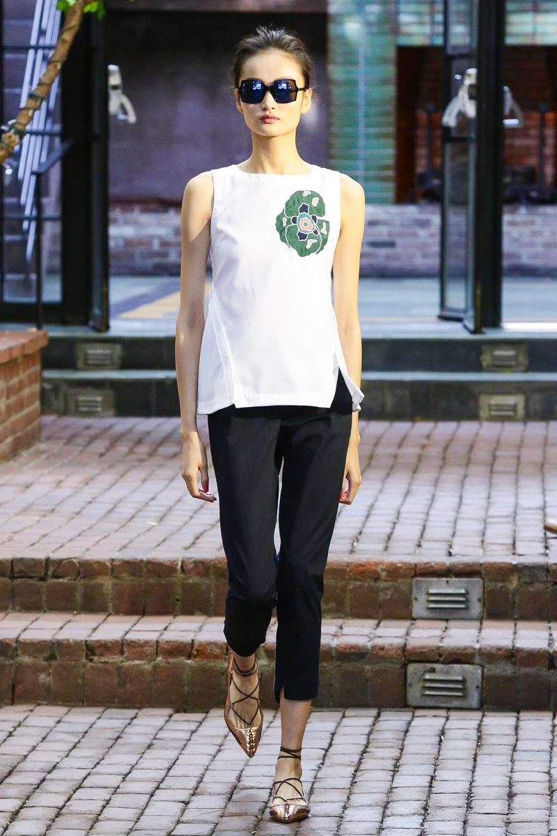 CG by Chris Gelinas Fashion Show, Ready to Wear Collection Spring Summer 2016 in New York