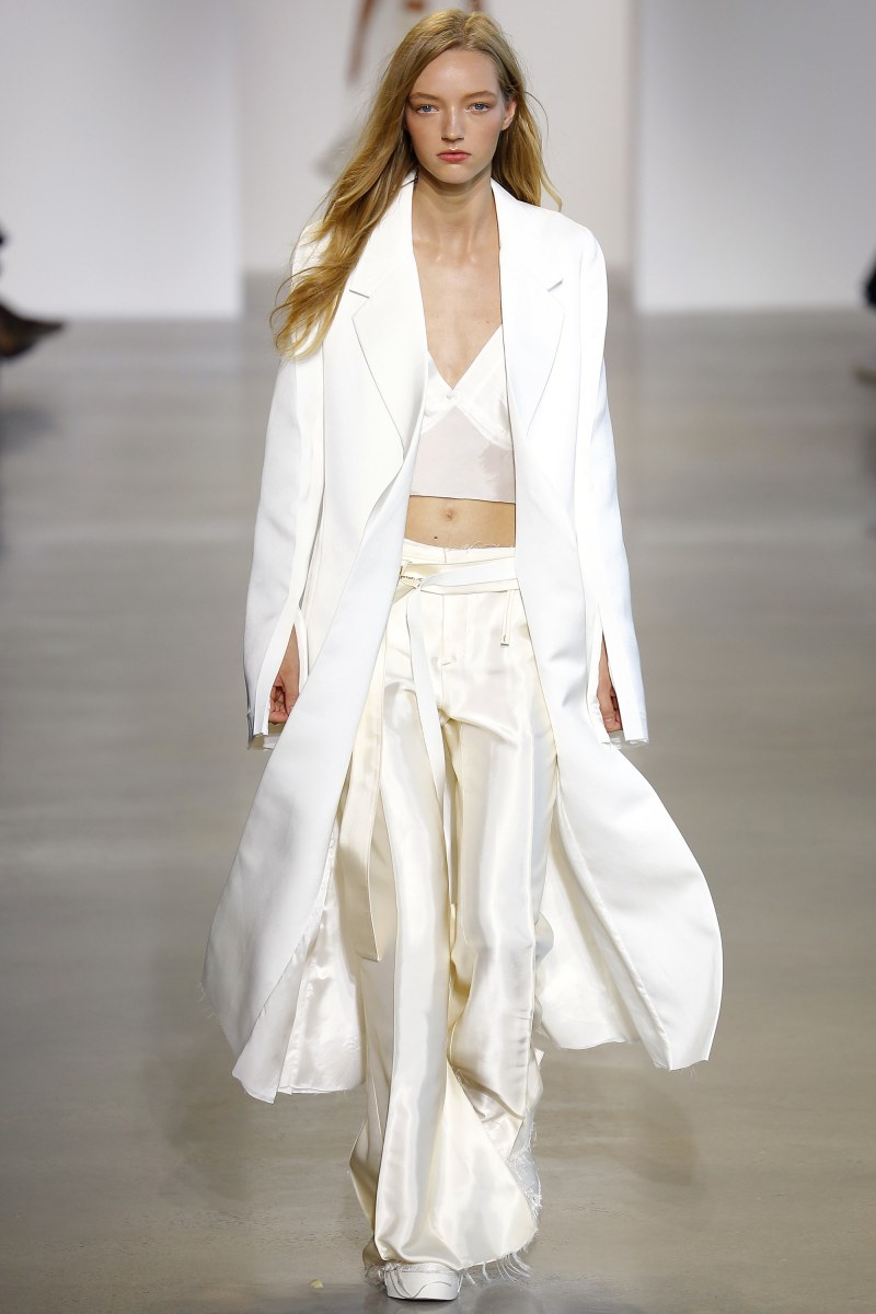 Calvin Klein Collection Ready To Wear SS 2016 NYFW (3)