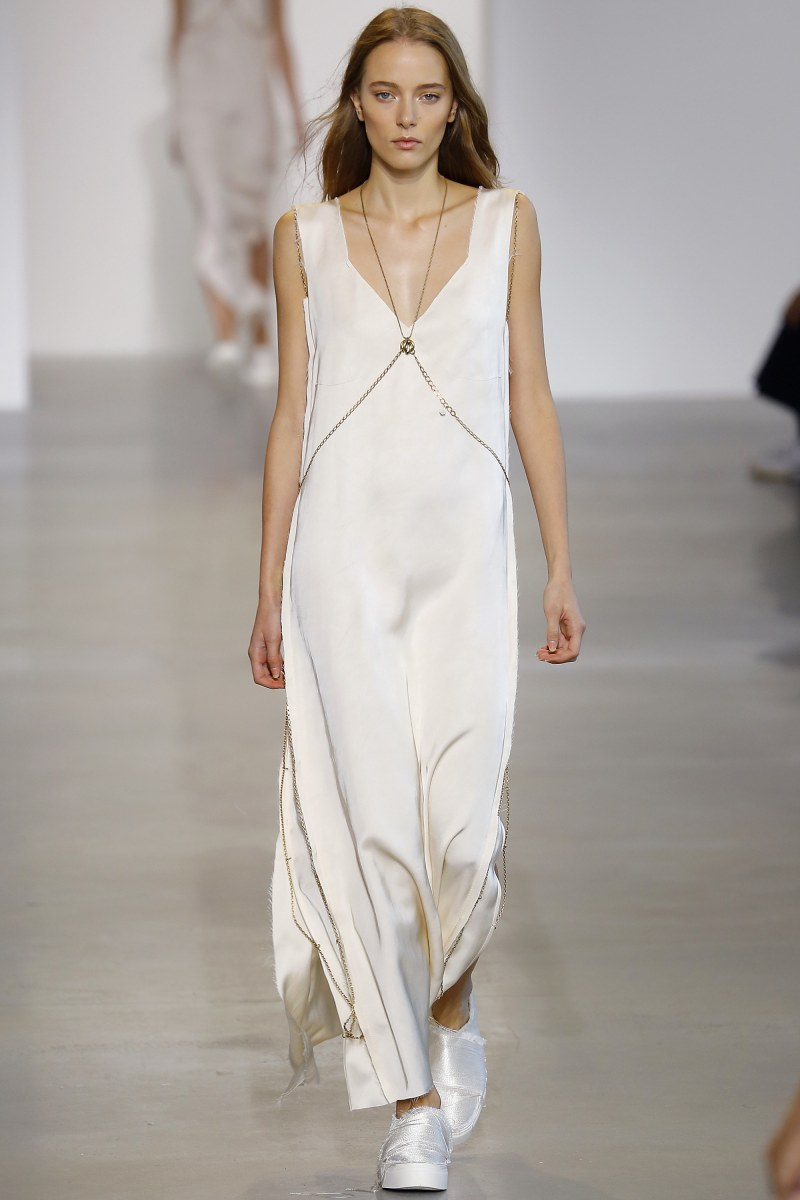 Calvin Klein Collection Ready To Wear SS 2016 NYFW (39)