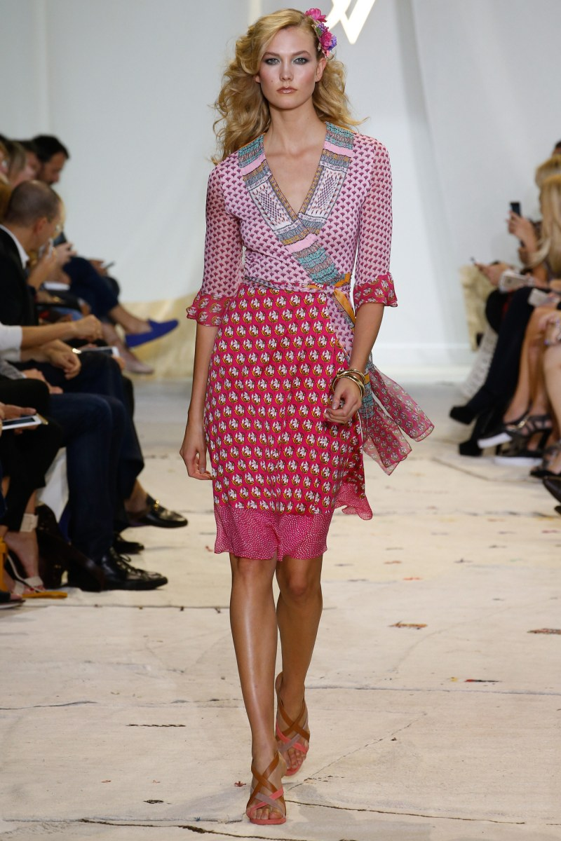 Diane von Furstenberg Ready To Wear SS 2016 NYFW (1)