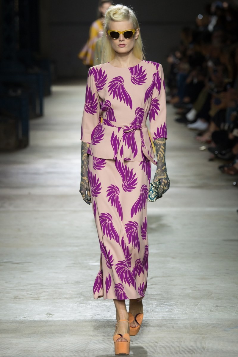 Dries Van Noten Ready To Wear SS 2016 PFW (15)