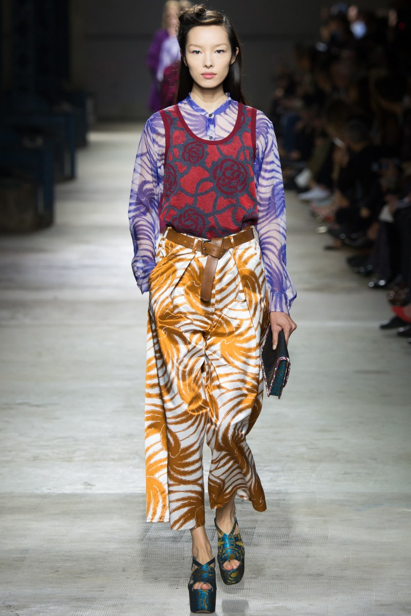 Dries Van Noten Ready To Wear SS 2016 PFW (33)