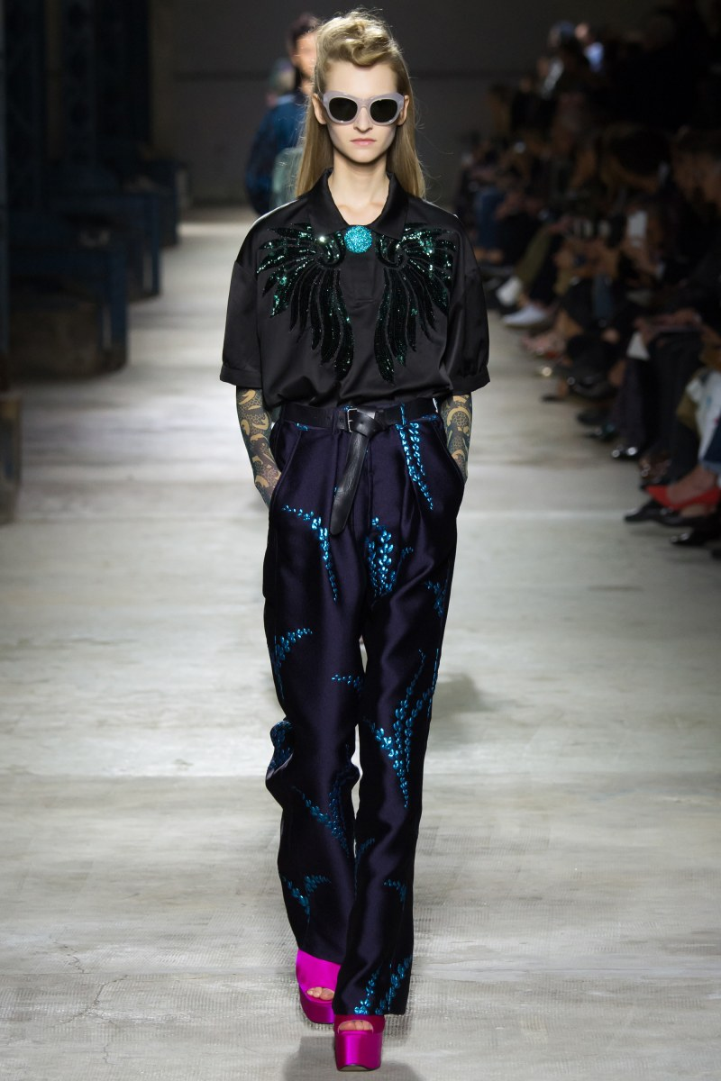 Dries Van Noten Ready To Wear SS 2016 PFW (40)