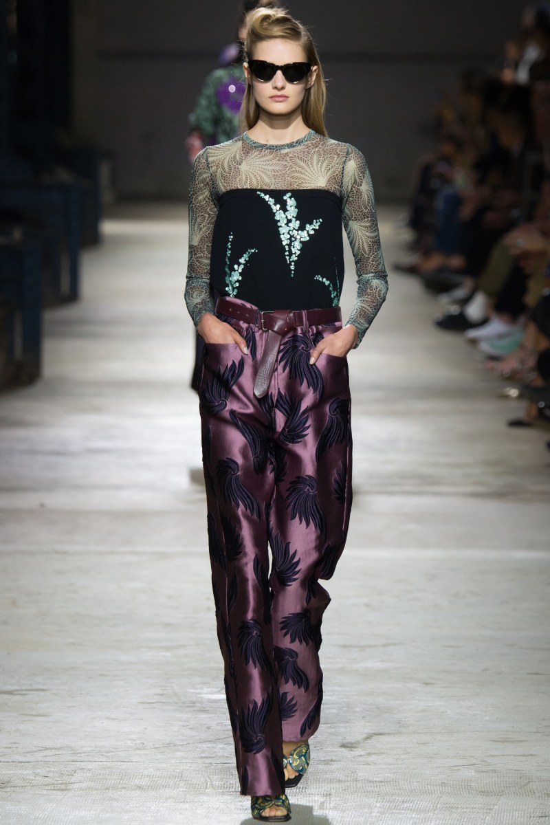 Dries Van Noten Ready To Wear SS 2016 PFW (43)