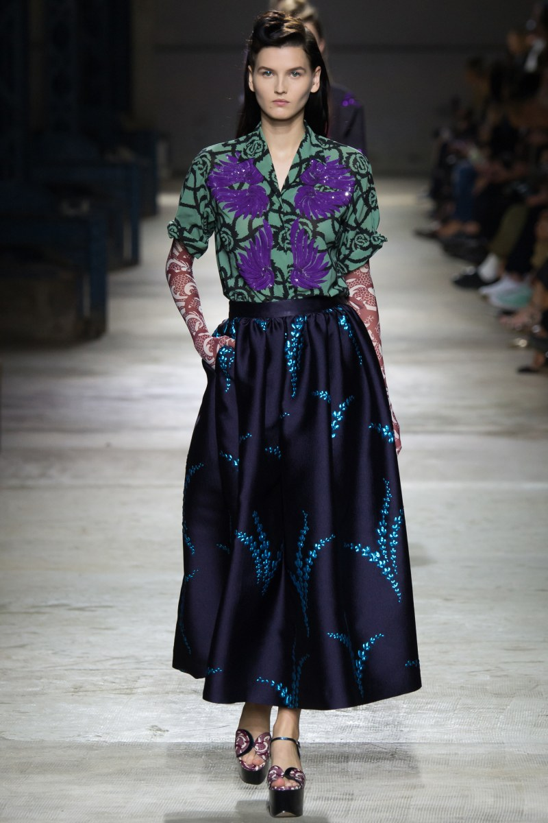 Dries Van Noten Ready To Wear SS 2016 PFW (44)