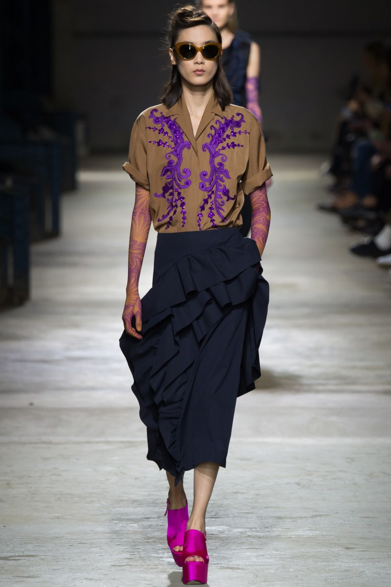 Dries Van Noten Ready To Wear SS 2016 PFW (51)
