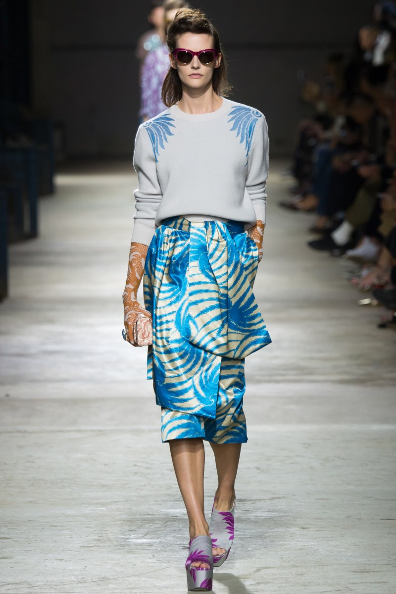 Dries Van Noten Ready To Wear SS 2016 PFW (8)