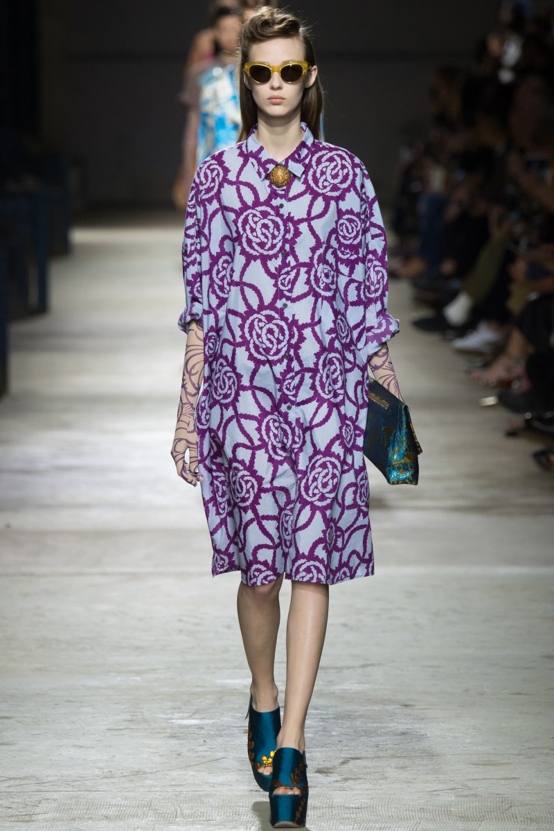 Dries Van Noten Ready To Wear SS 2016 PFW (9)