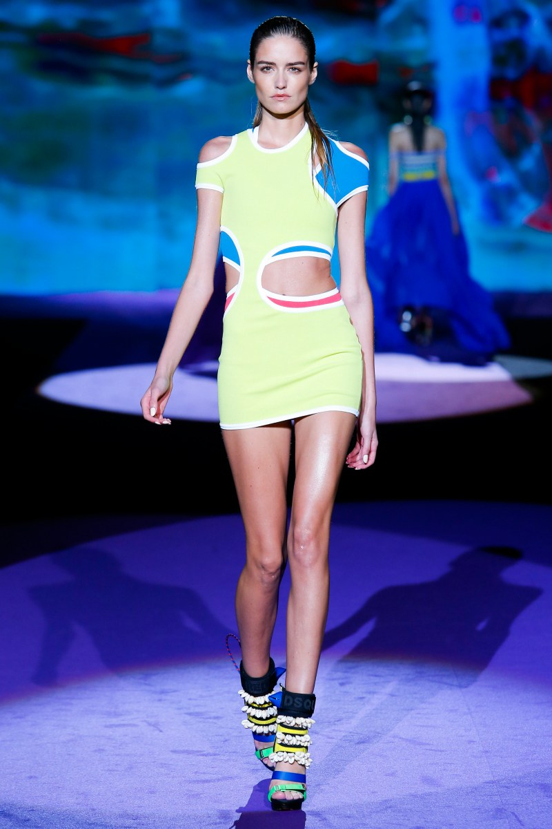 Dsquared2 Ready To Wear SS 2016 MFW (12)