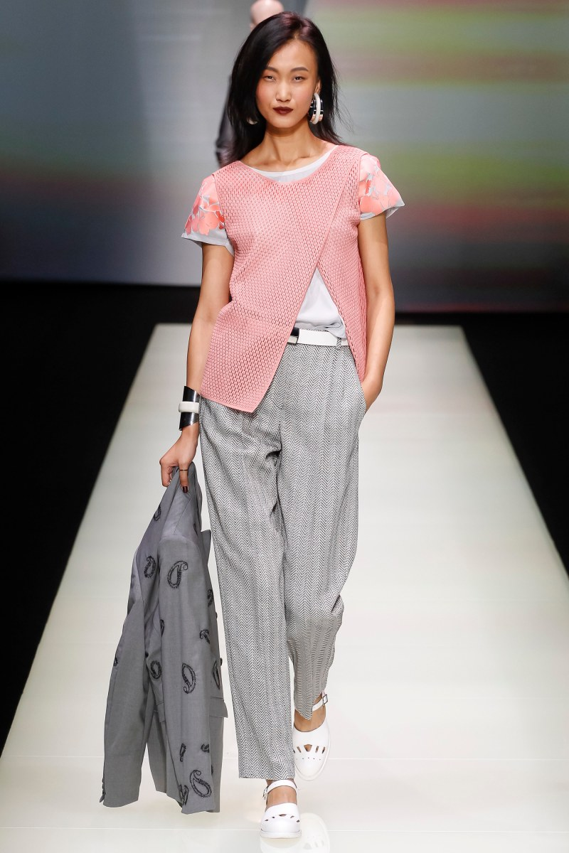 Emporio Armani Ready To Wear SS 2016 MFW (2)