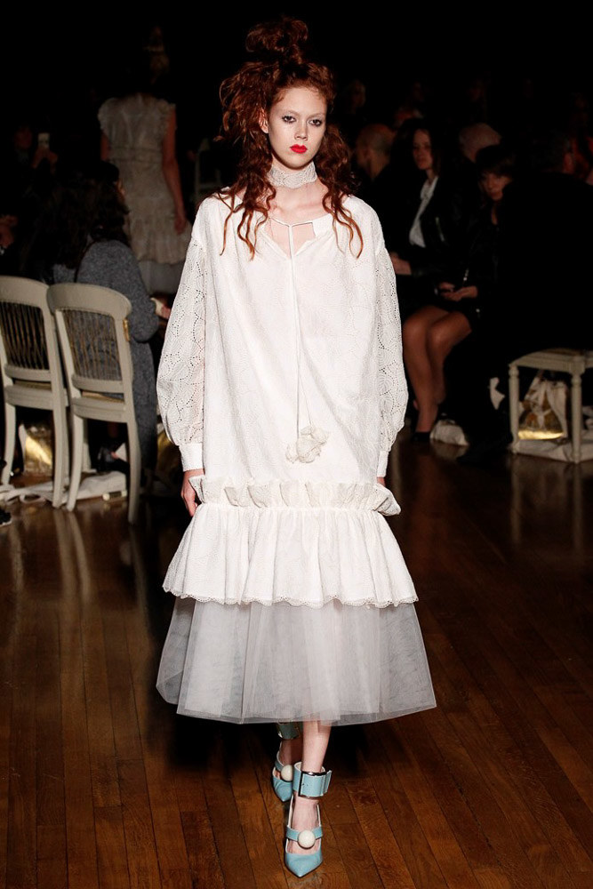 Giles Ready To Wear SS 2016 LFW (9)