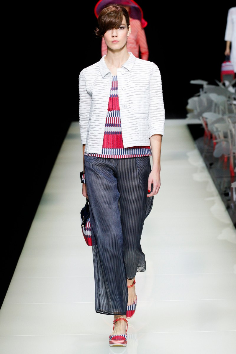 Giorgio Armani Ready To Wear SS 2016 MFW (2)
