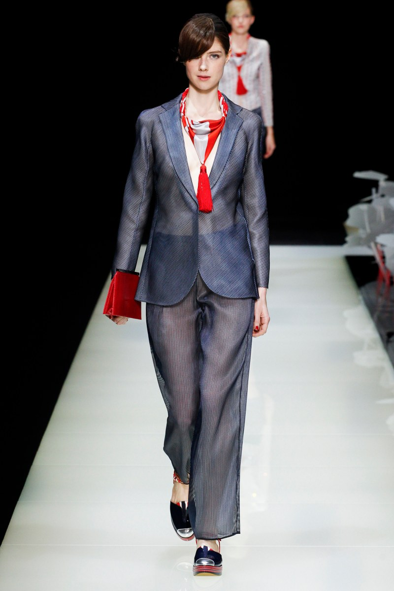 Giorgio Armani Ready To Wear SS 2016 MFW (22)