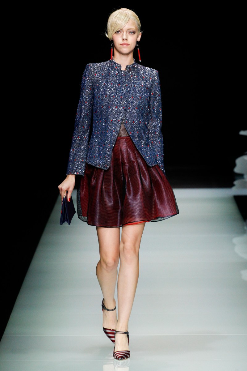 Giorgio Armani Ready To Wear SS 2016 MFW (33)
