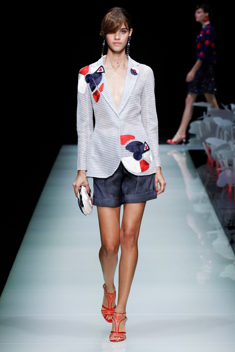 Giorgio Armani Ready To Wear SS 2016 MFW (42)
