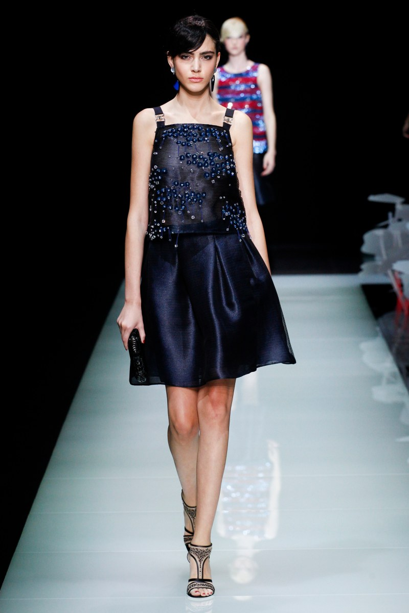 Giorgio Armani Ready To Wear SS 2016 MFW (47)
