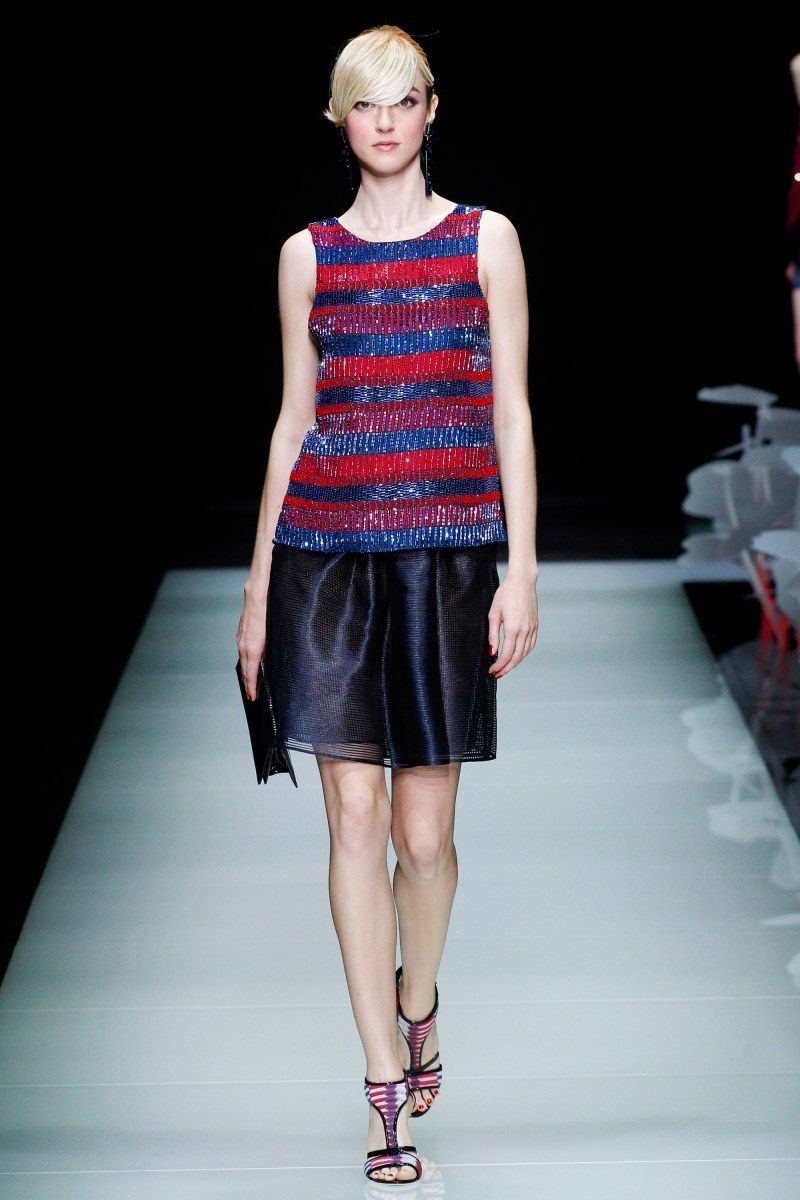 Giorgio Armani Ready To Wear SS 2016 MFW (48)