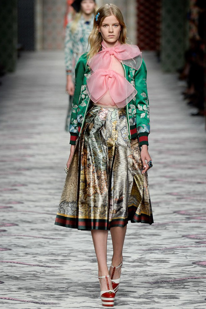 Gucci Ready To Wear SS 2016 MFW